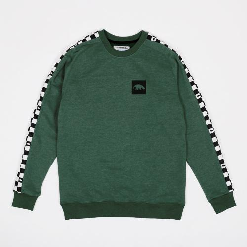 Толстовка Anteater crewneck-stripe_green