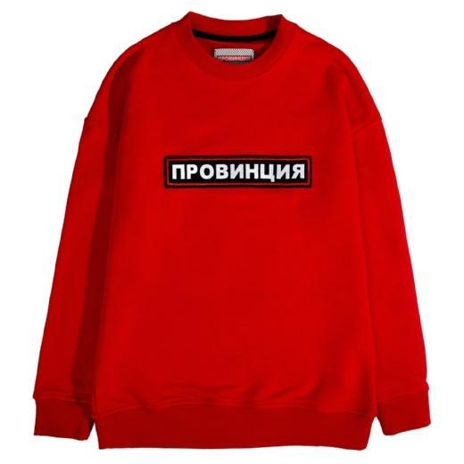Cвитшот мужской Провинция Классика красный