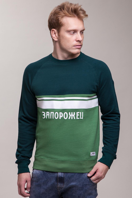 Толстовка ЗАПОРОЖЕЦ Zaporojec 2 (Зеленый (Hunter Green/Pine Green)