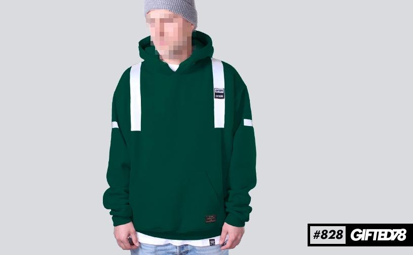 Худи GIFTED FX 18/828 зеленый