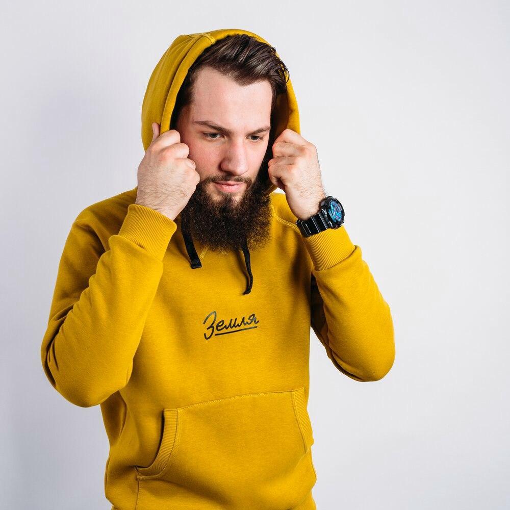 Толстовка ЗЕМЛЯ -ФРОСТ -Желтый
