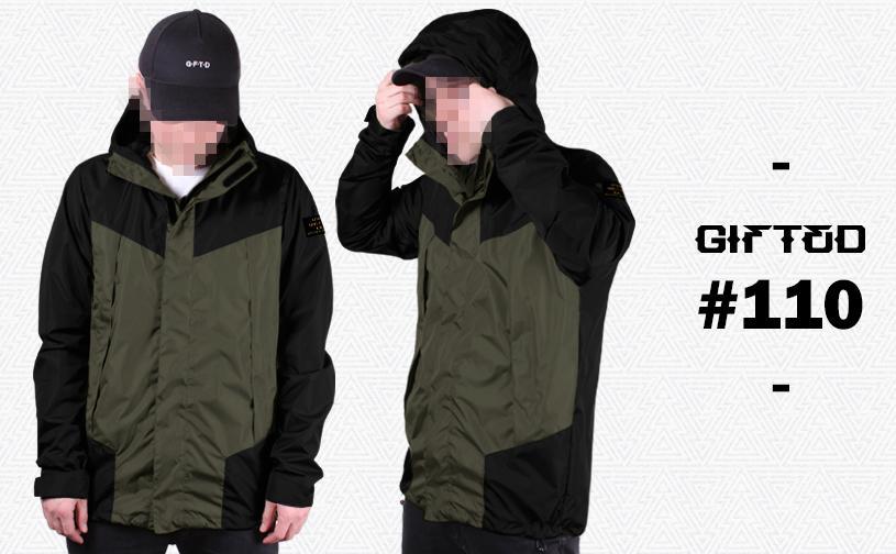 Куртка GIFTED SS18/110 хаки-черный