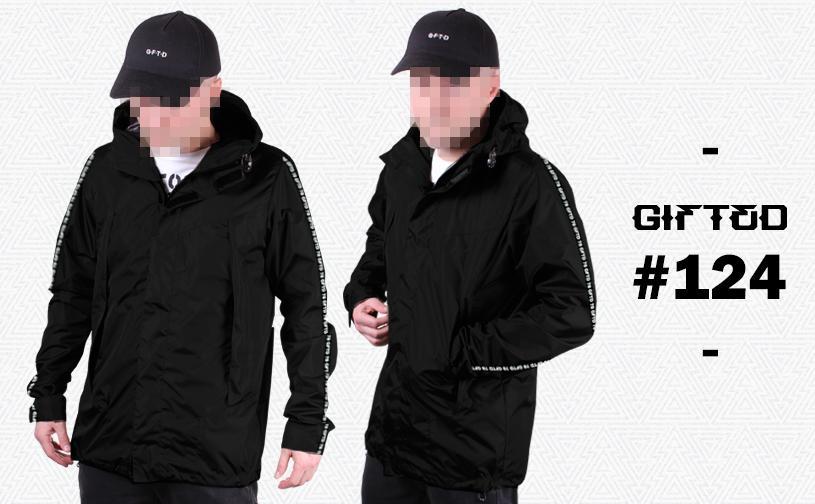 Куртка GIFTED SS18/124 черный