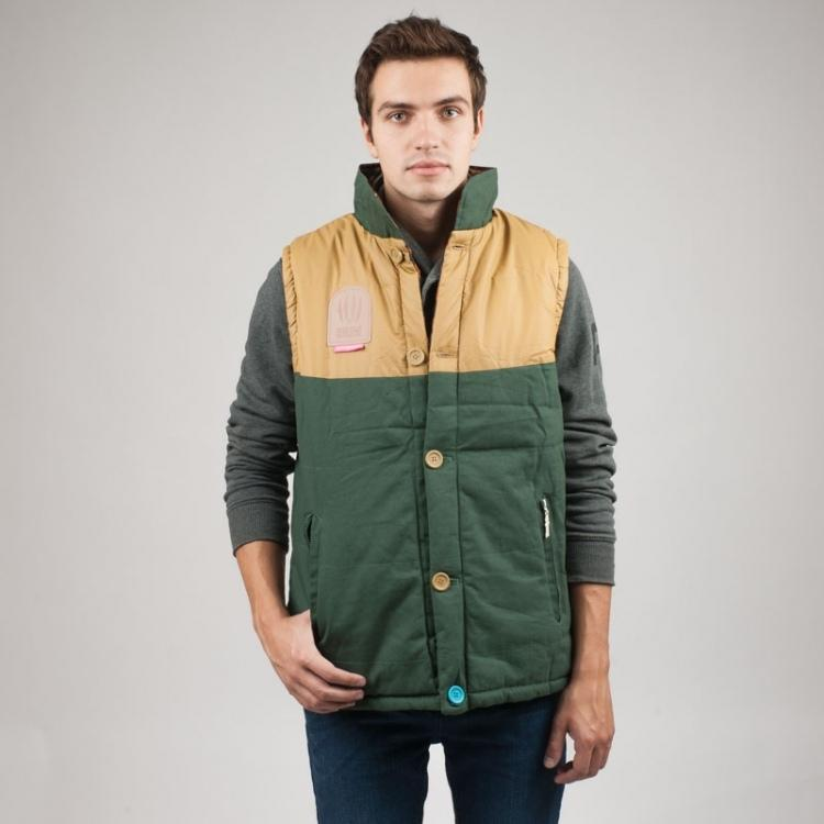 Жилет TRUESPIN Alaska Vest (Зеленый (Hunter Green/Leopard)